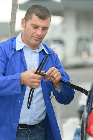 replacing the cars wiper