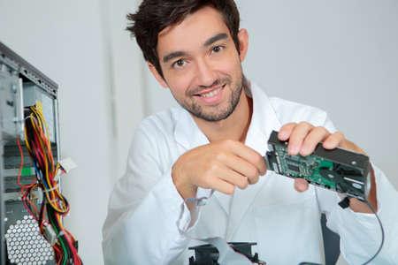 computer motherboard assembler