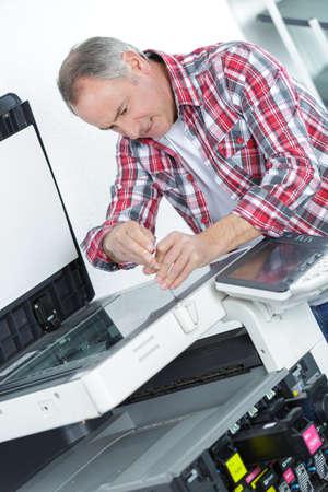 fixing the printer