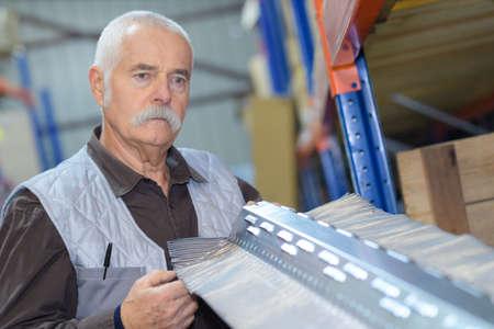 senior warehouse worker