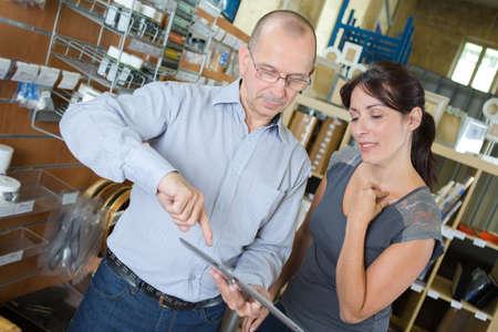 production vendor showing customer more designs
