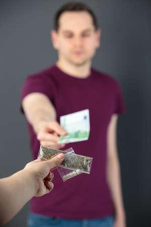 buying marijuana Stock Photo - 103279678