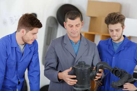 vehicle mechanics and parts assembler