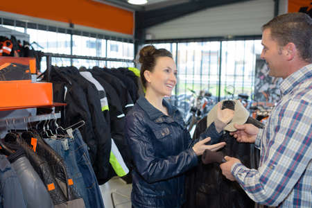 industrial clothing store