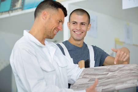 linoleum flooring apprentice and teacher