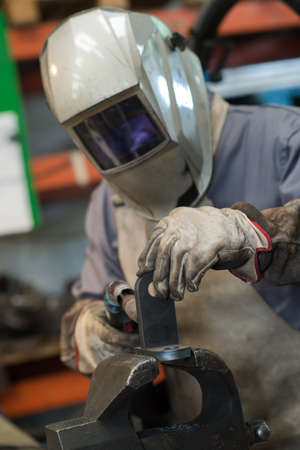 metal active gas - mig mag welding Stockfoto