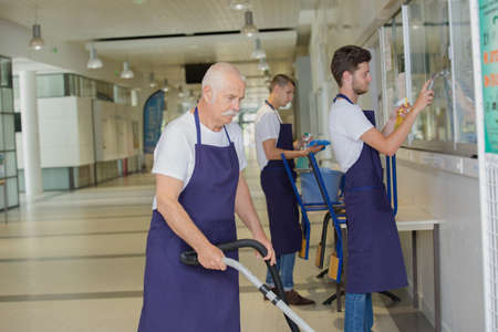 positive professional cleaners team