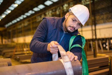 factory worker at a plant and petrochemical plant Standard-Bild - 134364579
