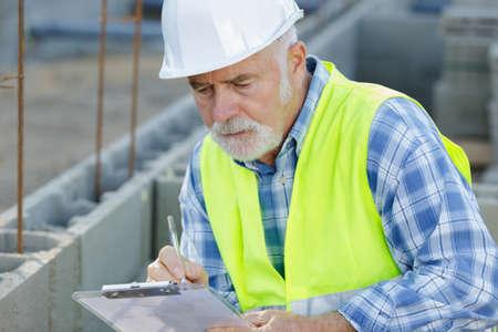 contractor estimate sheet for major rework Reklamní fotografie