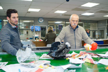 concept of segregating reusable garbage