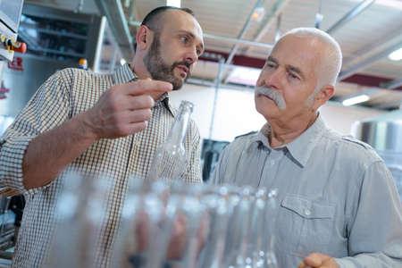 bottling company bosses having a conversation