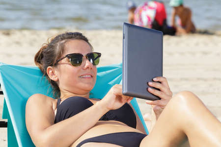 summer holidays vacation technology and interne