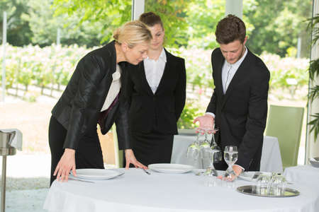 lesson on table setting