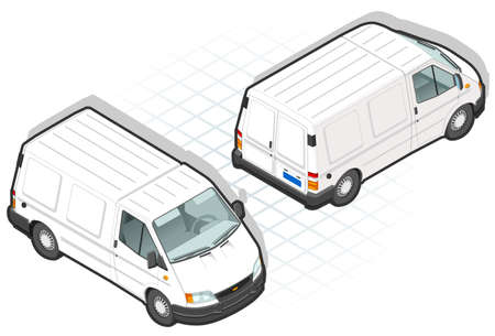 Isometric van Vector