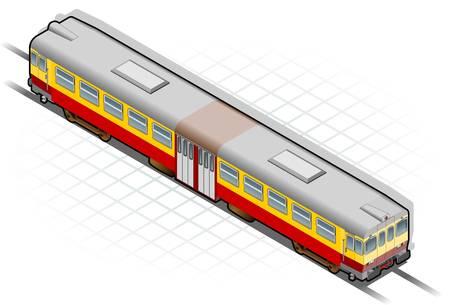 subway: Isometric train