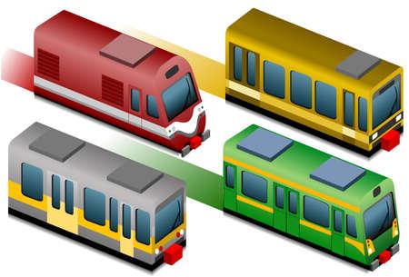 tram: isometric train