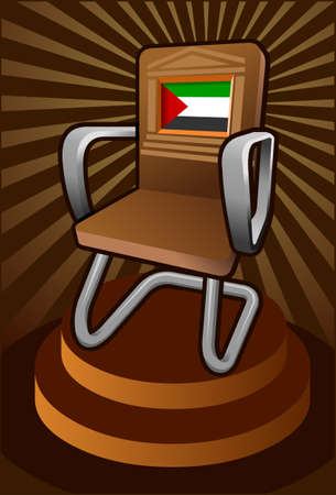 palestine: palestine candidate for the seat on unesco Illustration