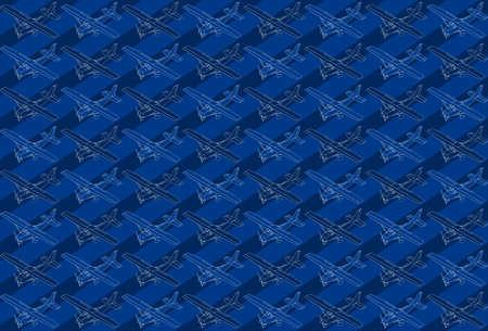 coast guard: ilustraci�n detallada de un patr�n isom�trica de un peque�o avi�n. Vectores