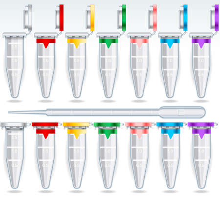 trial: Eppendorf Opened and Closed Multicolor Set