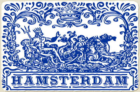 azulejos: Detailed Traditional Tiles Azulejos Amsterdam Netherlands
