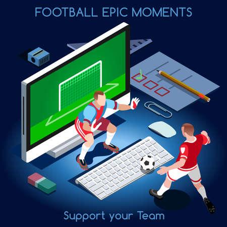 Goal Shooting Football Epic Moments