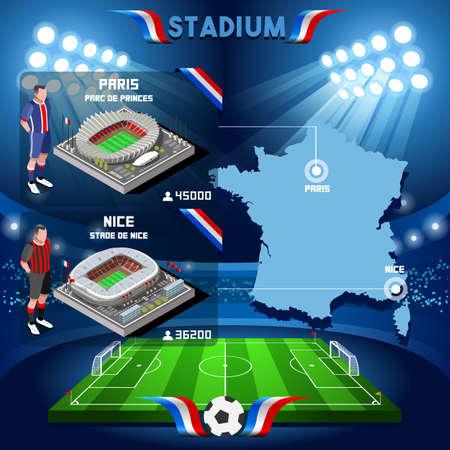 nice france: France stadium infographic Paris Parc de Prince. Frances and Stade de Nice stadium Icon. France stadium Jpg Jpeg. France stadium illustration. France stadium drawing. France stadium vector Eps object. Illustration