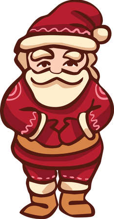 Christmas Santa Claus icon Illustration