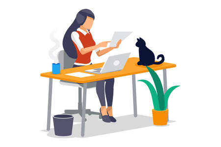 Symbolic questions, marks of answers, people question concept. Support mark of online support, ask concept exclamation symbol of question. Man and woman character Isometric Illustration Vector Design