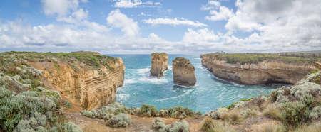 Tom and Eva beautiful limestone stacks, Twelve Apostels, Victoria, Great Ocean Road Coastline