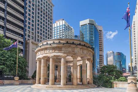 ブリスベンの戦没者慰霊塔、アンザック戦争記念広場 報道画像