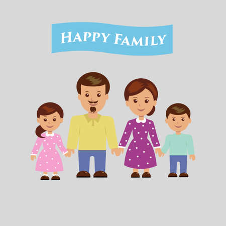 father and son holding hands: Happy family on a light background.