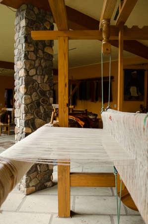 loom: Old threaded loom
