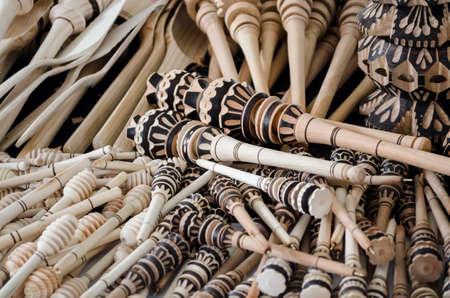 Traditional handicraft in Oaxaca, Mexico Stok Fotoğraf