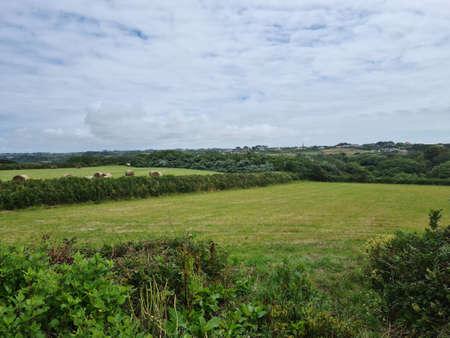 Torteval Feilds, Guernsey Channel Islands 版權商用圖片