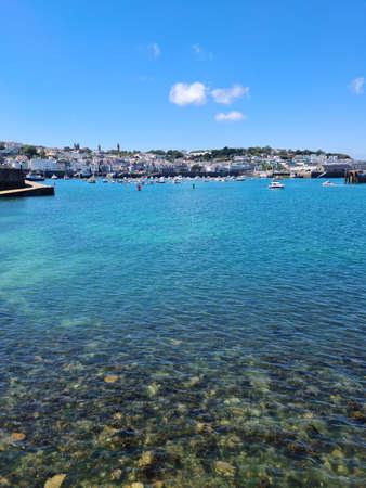 St Peter Port Harbour, Guernsey Channel Islands