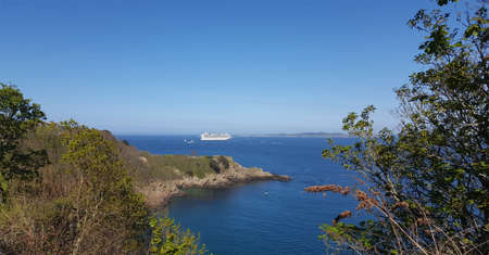 Cruise Ship, St Peter Port, Guernsey Channel Islands