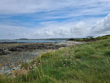 Richmond Headland, St Saviours Guernsey Channel Islands Archivio Fotografico