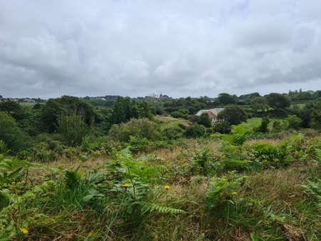 St Saviour Valley, Guernsey Channel Islands Archivio Fotografico