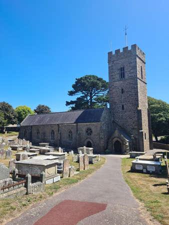 St Peter`s Church, Guernsey Channel Islands Zdjęcie Seryjne