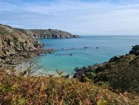 Petit Bot Bay, Guernsey Channel Islands Banque d'images