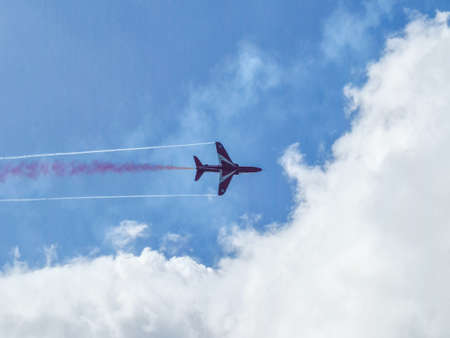 Red Arrows, Guernsey Channel Islands