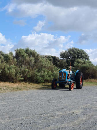 Vintage Tractor, Guernsey Channel Islands