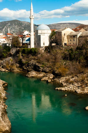 Mosque in Mostar, BiH Stock Photo - 13069771
