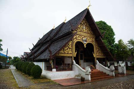 tranquilly: Wat Rong Ngae, Nan, Thailand