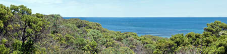 this is a landscape at Seal Bay on Kangaroo Island in South Australia