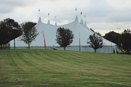 Big top circus tent photo