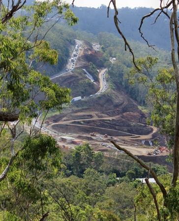 roadwork: Toowoomba Range roadwork