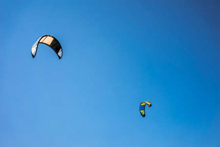 kite surfing: Kite Surfing in the Sky