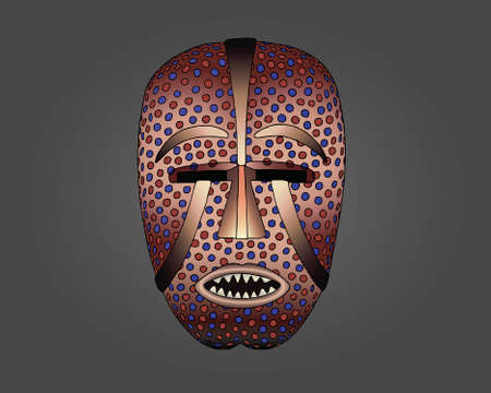 Woyo Mask vector illustration Иллюстрация