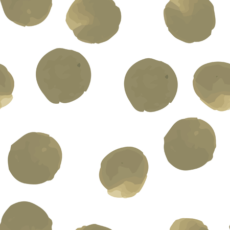 Seamless pattern in Polka-Dot. Perfect for your design, textile,  pattern fills, posters, cards, web page background etc. Pattern under the mask. Illustration